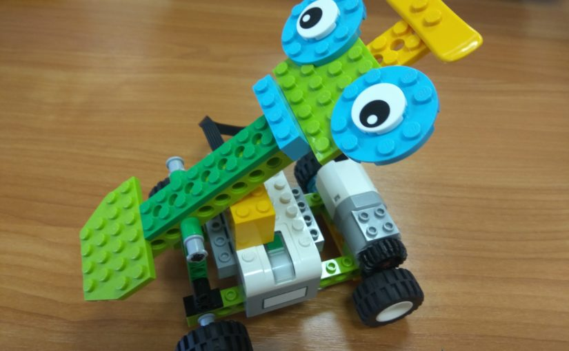 Робот-погрузчик. WeDo 2.0