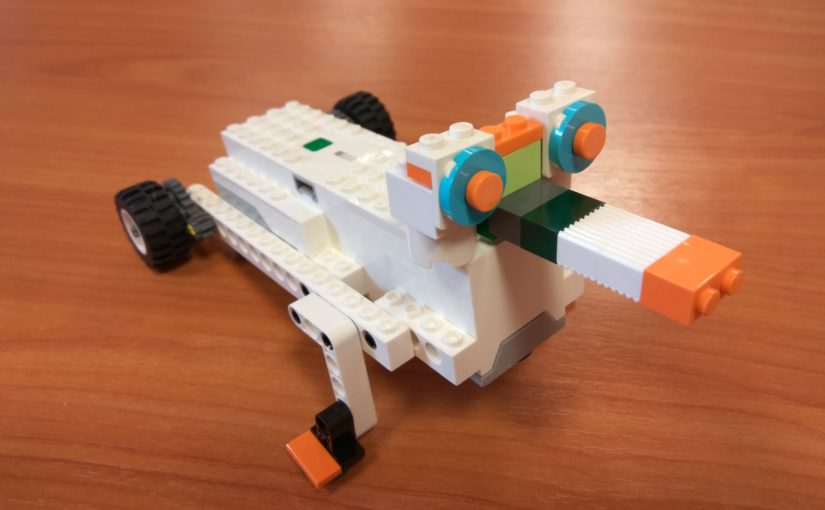 Lego Boost. Утконос